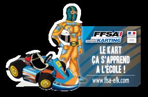 logo ecole pilotage kart