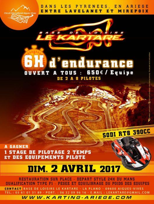 Kart'Are - 6h d'endurance Kart 4T