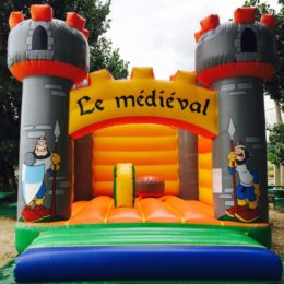 Château gonflable pour les Petits